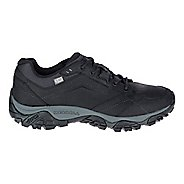 Mens Merrell Moab Adventure Lace Waterproof Hiking Shoe - Black 10.5