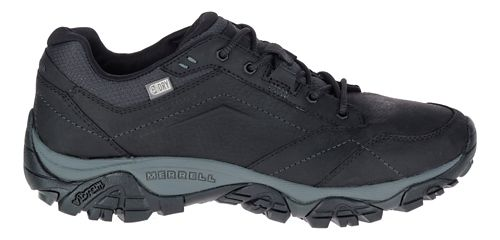 Mens Merrell Moab Adventure Lace Waterproof Hiking Shoe - Black 8