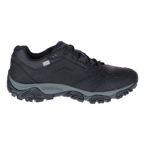 Mens Merrell Moab Adventure Lace Waterproof Hiking Shoe - Black 11