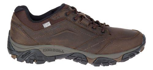 Mens Merrell Moab Adventure Lace Waterproof Hiking Shoe - Dark Earth 9