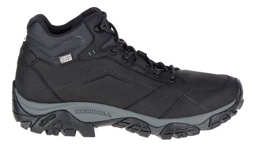 Mens Merrell Moab Adventure Mid Waterproof Hiking Shoe - Black 11.5