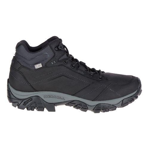 Mens Merrell Moab Adventure Mid Waterproof Hiking Shoe - Black 10.5