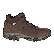 Mens Merrell Moab Adventure Mid Waterproof Hiking Shoe - Dark Earth 11