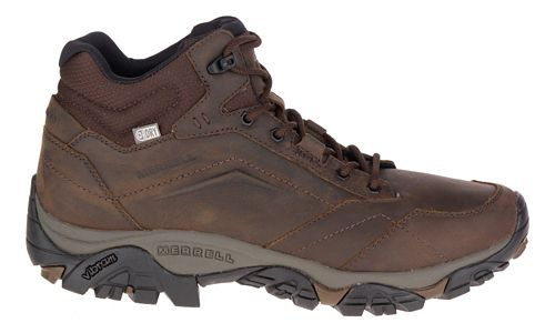 Mens Merrell Moab Adventure Mid Waterproof Hiking Shoe - Dark Earth 8