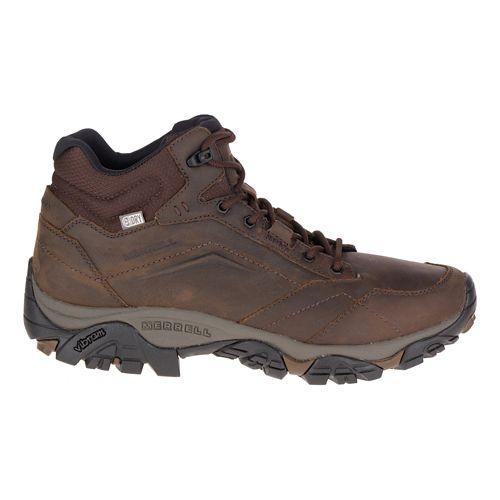 Mens Merrell Moab Adventure Mid Waterproof Hiking Shoe - Dark Earth 11