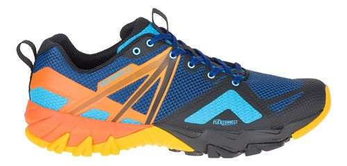 Mens Merrell MQM Flex Hiking Shoe - Blue/Black 12