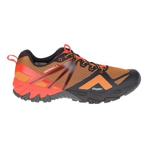Mens Merrell MQM Flex Hiking Shoe - Old Gold 9.5
