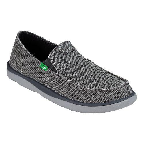 Mens Sanuk Vagabond Tripper Casual Shoe - Charcoal 11