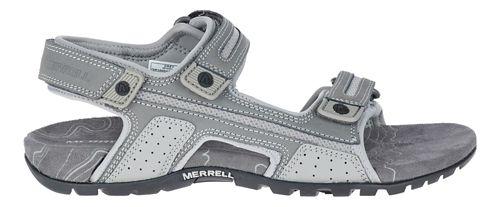 Mens Merrell Sandspur Oak Sandals Shoe - Grey 12