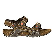 Mens Merrell Sandspur Oak Sandals Shoe - Dark Earth/Clay 12