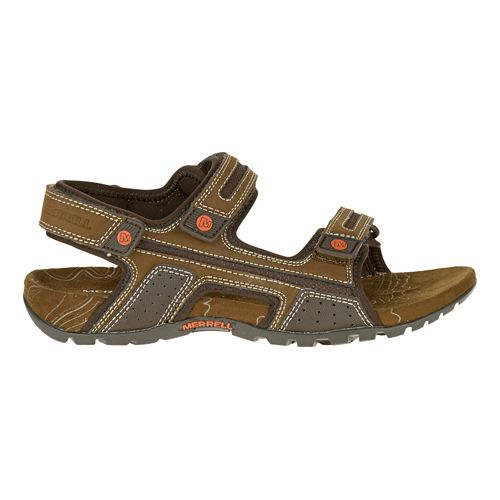Mens Merrell Sandspur Oak Sandals Shoe - Grey 9