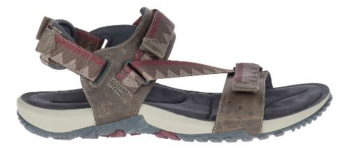 Mens Merrell Terrant Convertible Sandals Shoe - Brindle 12