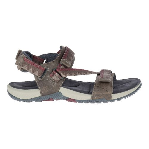 Mens Merrell Terrant Convertible Sandals Shoe - Brindle 10