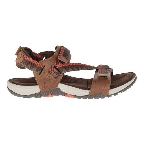 Mens Merrell Terrant Convertible Sandals Shoe - Brown Sugar 15
