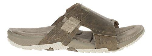 Mens Merrell Terrant Slide Sandals Shoe - Brindle 7