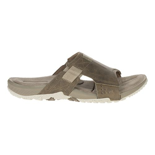 Mens Merrell Terrant Slide Sandals Shoe - Brindle 12