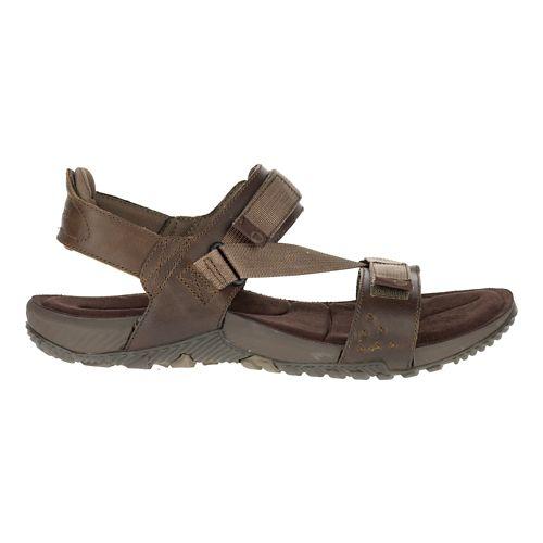 Mens Merrell Terrant Strap Sandals Shoe - Brindle 12