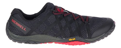 Mens Merrell Trail Glove 4 E-Mesh Trail Running Shoe - Black 10.5