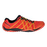 Mens Merrell Trail Glove 4 E-Mesh Trail Running Shoe - Saffron 7.5
