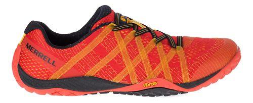 Mens Merrell Trail Glove 4 E-Mesh Trail Running Shoe - Saffron 10