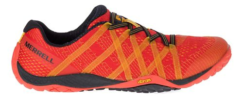 Mens Merrell Trail Glove 4 E-Mesh Trail Running Shoe - Saffron 8.5