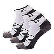 Zensah Peek Running 3 Pack Socks