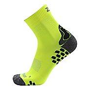 Zensah Traction Running Socks - Neon Yellow L