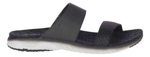 Womens Merrell 1six8 Linna Slide AC+ Sandals Shoe - Black 6
