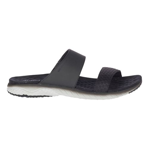 Womens Merrell 1six8 Linna Slide AC+ Sandals Shoe - Black 11