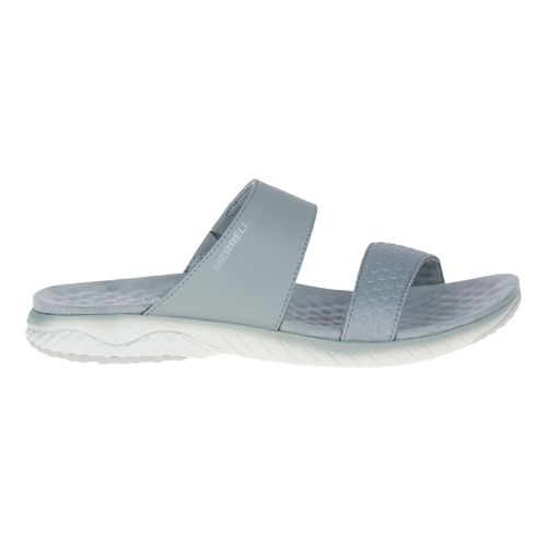 Womens Merrell 1six8 Linna Slide AC+ Sandals Shoe - Silver 8