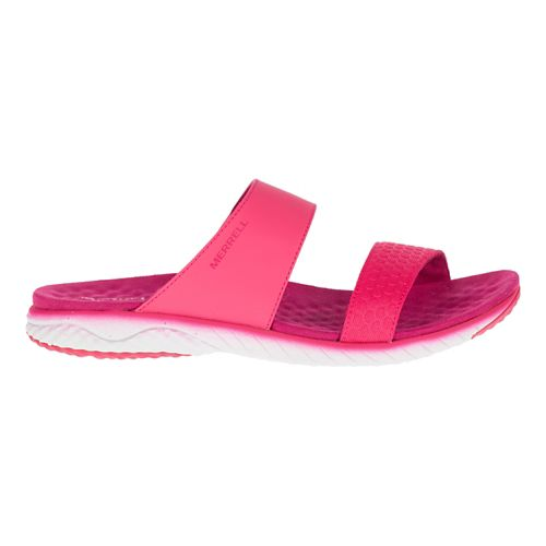 Womens Merrell 1six8 Linna Slide AC+ Sandals Shoe - Pink 10