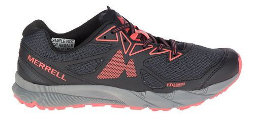 Womens Merrell Agility Fusion Flex Trail Running Shoe - Granite/Coral 7.5