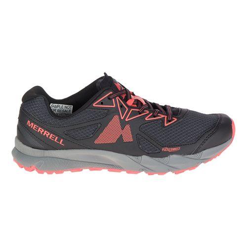 Womens Merrell Agility Fusion Flex Trail Running Shoe - Granite/Coral 9