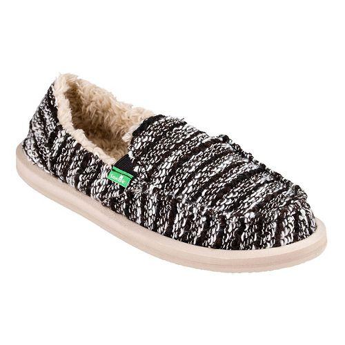Womens Sanuk Donna Chill Casual Shoe - Black 9