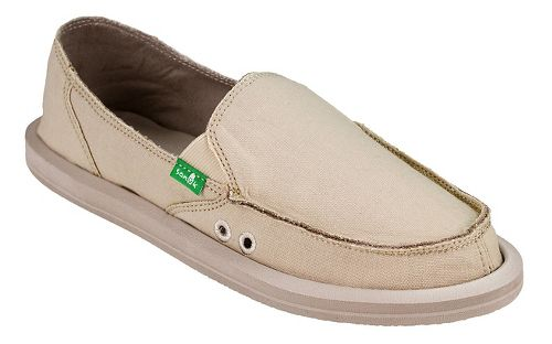 Womens  Sanuk Donna Daily Casual Shoe - Natural 7