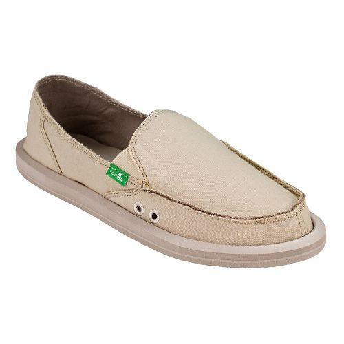 Womens  Sanuk Donna Daily Casual Shoe - Natural 11