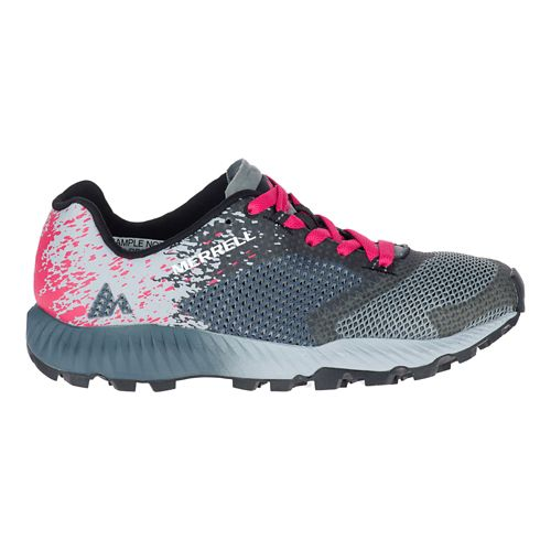 Womens Merrell All Out Crush 2 Trail Running Shoe - Slate 9