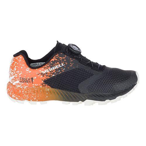 Womens Merrell All Out Crush 2 BOA Trail Running Shoe - TM Orange 9