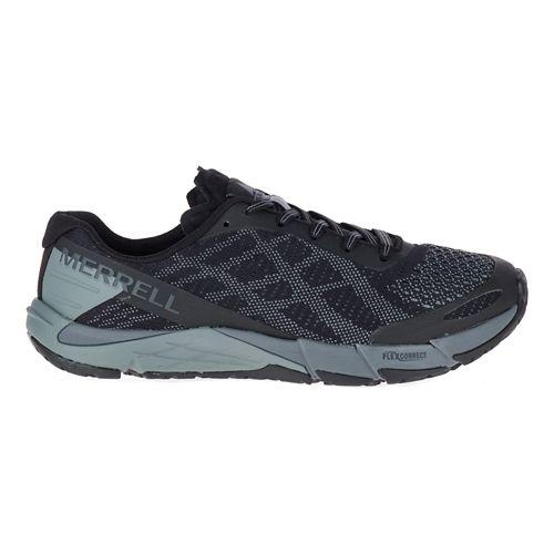 Womens Merrell Bare Access Flex E-Mesh Running Shoe - Black 11