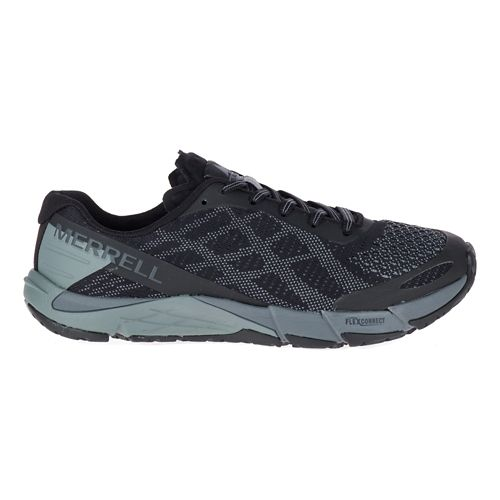 Womens Merrell Bare Access Flex E-Mesh Running Shoe - Black 5