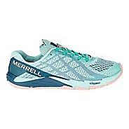 Womens Merrell Bare Access Flex E-Mesh Running Shoe - Turquoise 10