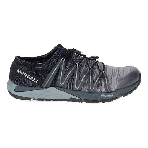 Womens Merrell Bare Access Flex Knit Running Shoe - Black 8.5