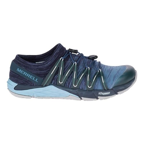 Womens Merrell Bare Access Flex Knit Running Shoe - Navy 7