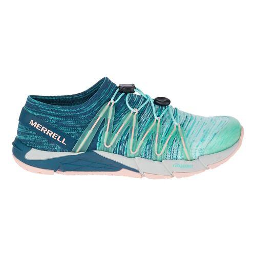 Womens Merrell Bare Access Flex Knit Running Shoe - Aqua 8