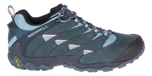 Womens Merrell Chameleon 7 Hiking Shoe - Slate/Blue 8