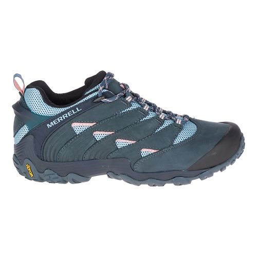 Womens Merrell Chameleon 7 Hiking Shoe - Slate/Blue 6.5