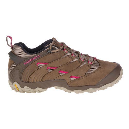 Womens Merrell Chameleon 7 Hiking Shoe - Merrell Stone 5