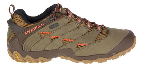 Womens Merrell Chameleon 7 Waterproof Hiking Shoe - Dusty Olive 10.5