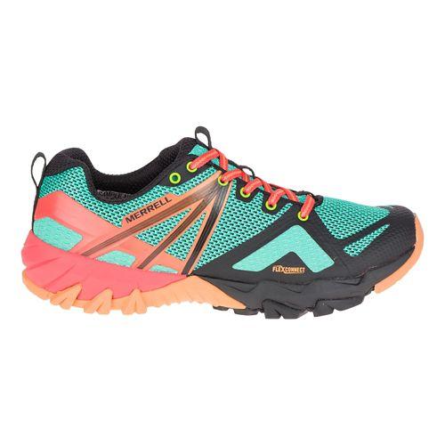 Womens Merrell MQM Flex Hiking Shoe - Fruit Punch 6.5