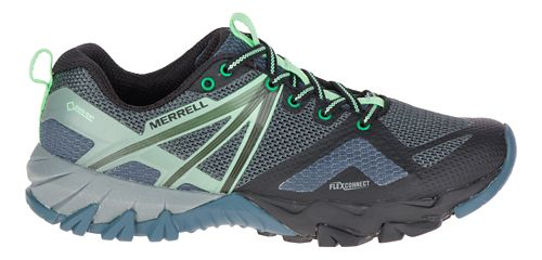 Womens Merrell MQM Flex GORE-TEX Hiking Shoe - Grey/Black 10